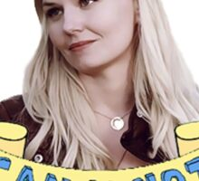 Emma Swan doesn't take any of your poop Sticker