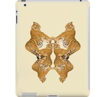 Tiger Rorschach iPad Case/Skin
