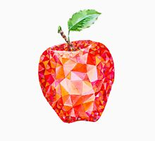 Low Poly Watercolor Apple Unisex T-Shirt