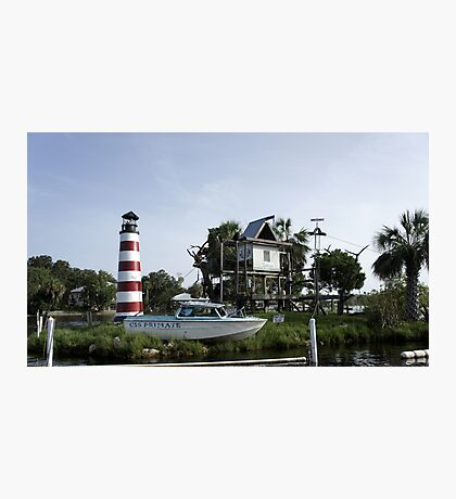 Monkey Island Photographic Print