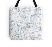 Tube Map  Tote Bag