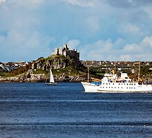 The Scillonian Ferry Coming Home by Terri Waters