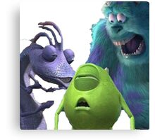 Monsters Incapacitated Canvas Print