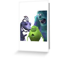 Monsters Incapacitated Greeting Card