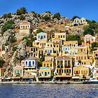 Symi Town by Tom Gomez