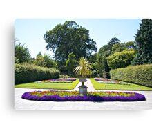 The Formal Garden Canvas Print