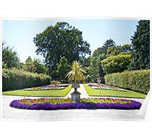 The Formal Garden Poster