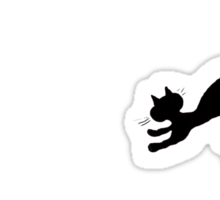 Cat & Mouse Sticker