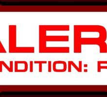 RED ALERT: Star Trek and Beyond Sticker
