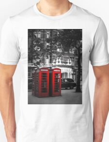 Red Telephone Boxes T-Shirt