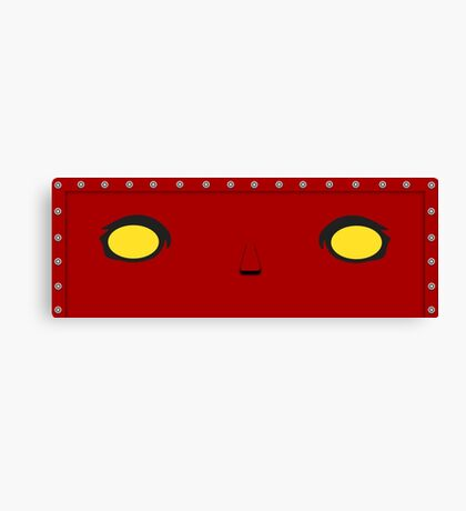Red Robot Canvas Print