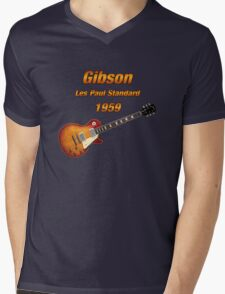 Vintage Les Paul 1959 Mens V-Neck T-Shirt