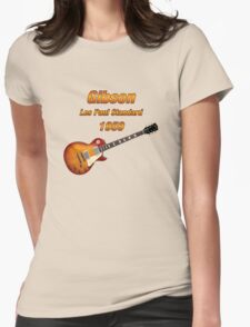 Vintage Les Paul 1959 Womens Fitted T-Shirt