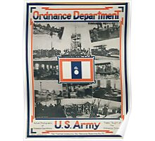 Ordnance Department US Army Poster
