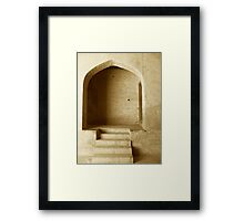 Mughal Architecture - take two Framed Print