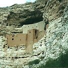 montazuma's castle, Arizona by steveschwarz
