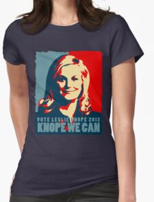Knope We Can 2012 Womens Fitted T-Shirt