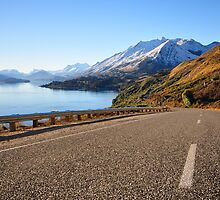 Glenorchy-Queenstown Road, Otago, South Island, NZ by Chris Jones