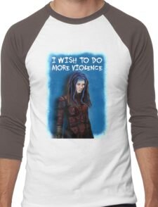 Illyria - I wish to do more violence Men's Baseball ¾ T-Shirt