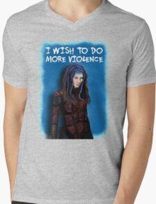 Illyria - I wish to do more violence Mens V-Neck T-Shirt