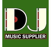 DJ Music Supplier Photographic Print