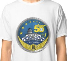 USS Enterprise (CVN-65) Inactivation Crest Classic T-Shirt