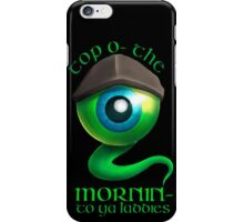 Top O' The Mornin' iPhone Case/Skin