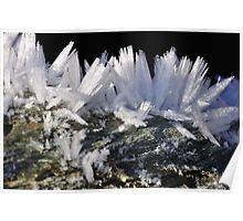 Deep Frost Crystals Poster