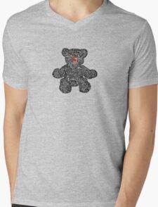 Tattoo teddy Mens V-Neck T-Shirt