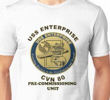 PCU Enterprise (CVN-80) Crest Unisex T-Shirt