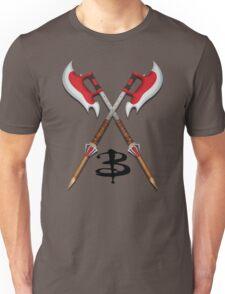 Buffy -- Scythes Crossed Unisex T-Shirt