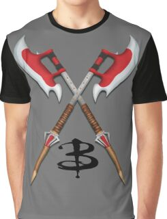 Buffy -- Scythes Crossed Graphic T-Shirt