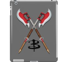 Buffy -- Scythes Crossed iPad Case/Skin