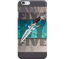 5 by 5 - Faith - Buffy the Vampire Slayer iPhone Case/Skin