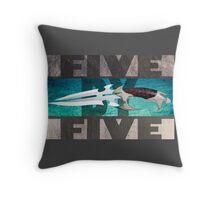5 by 5 - Faith - Buffy the Vampire Slayer Throw Pillow