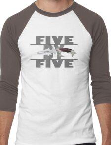 5 by 5 - Faith - Buffy the Vampire Slayer Men's Baseball ¾ T-Shirt