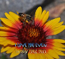 """"""" I love you even when your hurt """" by CanyonWind"""