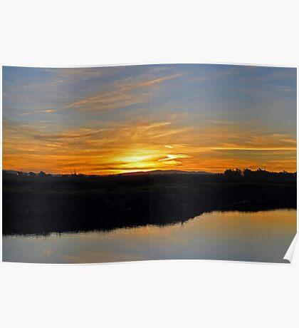 Bolsa Chica Reserve Sunrise Poster