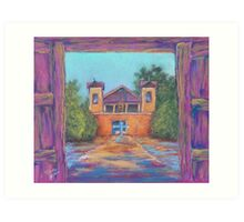 Quaint Church Art Print