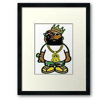 THE NOTORIOUS B.I.G. - THE KING OF NEW YORK Framed Print