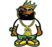 THE NOTORIOUS B.I.G. - THE KING OF NEW YORK Photographic Print