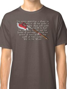 Buffy Slayer Scythe Classic T-Shirt