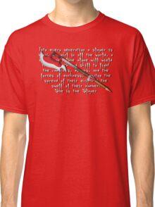 Buffy Slayer Scythe Classic T-Shirt