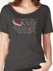 Buffy Slayer Scythe Women's Relaxed Fit T-Shirt