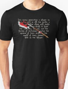 Buffy Slayer Scythe T-Shirt