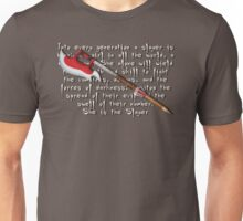 Buffy Slayer Scythe Unisex T-Shirt