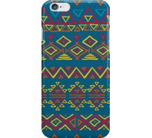 Seamless abstract geometric pattern iPhone Case/Skin