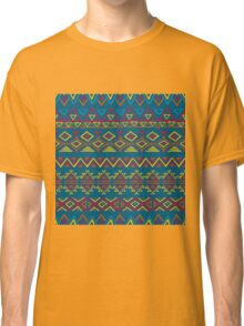 Seamless abstract geometric pattern Classic T-Shirt