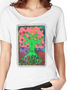 Percentum Fruit Tree Women's Relaxed Fit T-Shirt