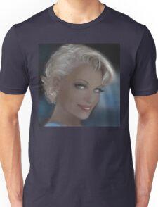 Blue Eyes Blond Sad Unisex T-Shirt
